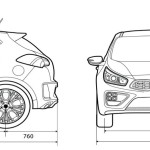 Kia Ceed blueprint