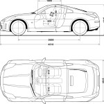 Nissan 350Z blueprint
