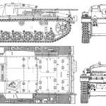 StuG III blueprint