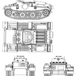 Panzer I blueprint