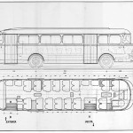 Lancia Esatau V11 Complessivo blueprint
