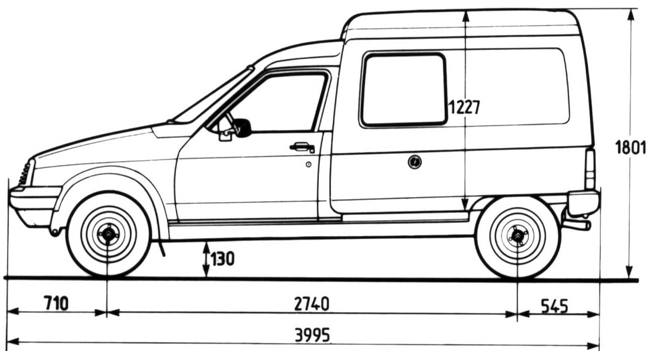 citroen c15 1984 blueprint