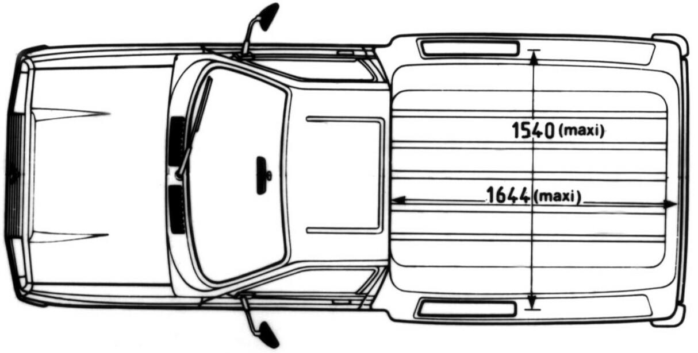 Citroen C15 blueprint