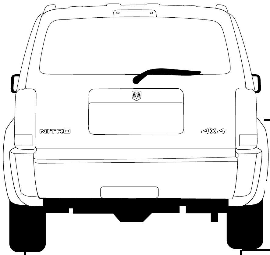 Dodge Nitro blueprint