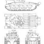 Matilda II blueprint