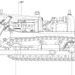 Bulldozer blueprint