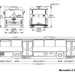 Mercedes-Benz O305 blueprint