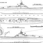 I-400-class submarine blueprint