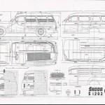 Škoda 1202 blueprint