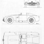 Alfa Romeo 6c 3000 CM blueprint