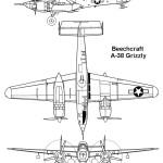 XA-38 Grizzly blueprint