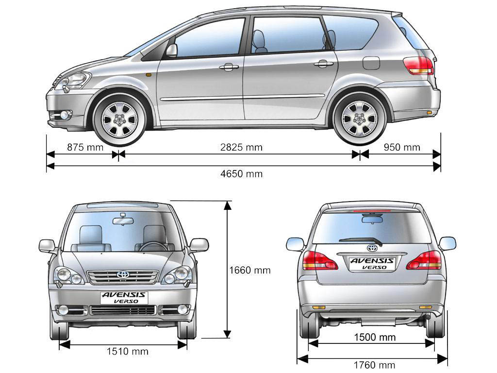 Toyota Ipsum blueprint