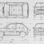 Nissan Micra blueprint