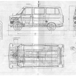Ford Transit blueprint