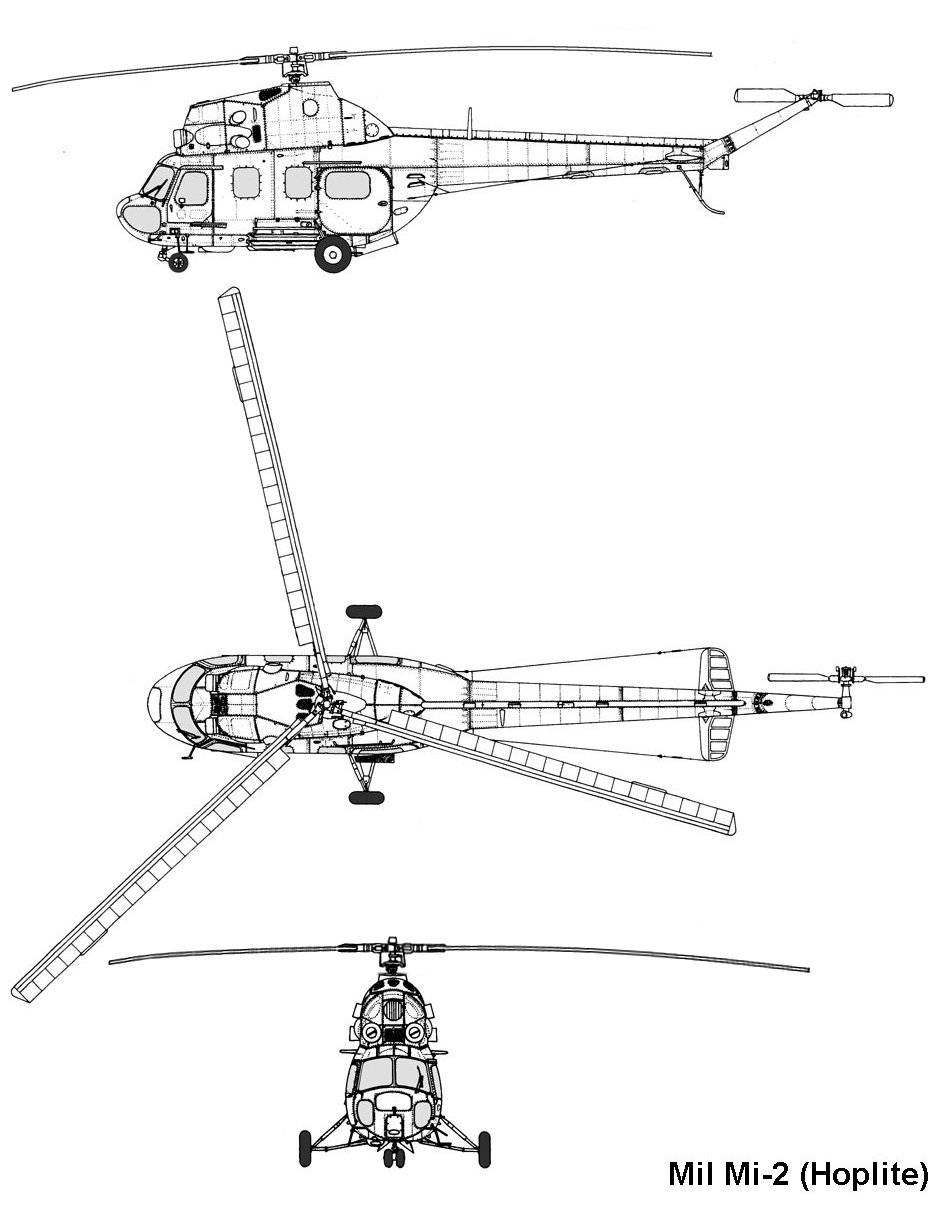 Mil Mi-2 blueprint