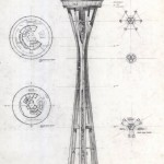 Space Needle blueprint