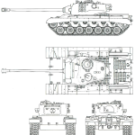 T32 heavy tank blueprint