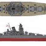 Yamato-class battleship blueprint
