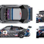 Audi RS3 LMS TCR blueprint